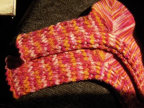 The Solstice Slip Socks