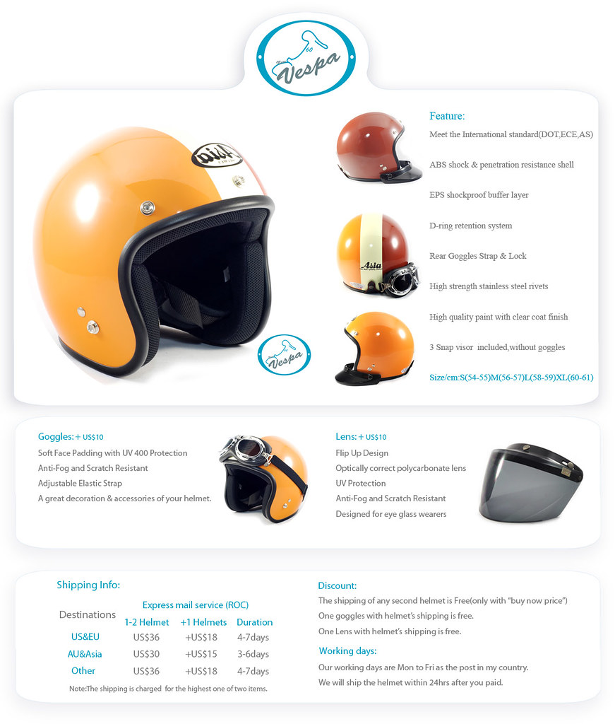 Coffee Light Helmet (Passenger)