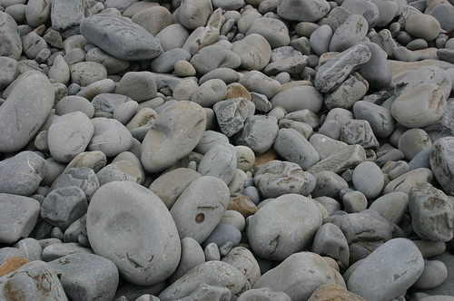 Pebbles on a Beach in Ireland