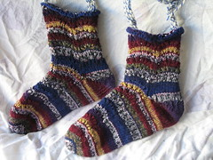 feather and fan socks 2