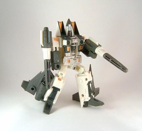 Transformers Ramjet - modo robot (Classic)