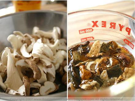 Mushrooms- Shitake, Oyster, Porcini