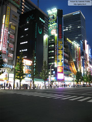 "Akihabara at night <a style=""margin-left:10px; font-size:0.8em;"" href=""http://www.flickr.com/photos/24828582@N00/1321463307/"" target=""_blank"">@flickr</a>"