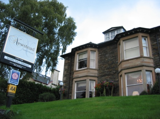 newstead  B&B, windermere