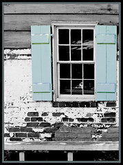 Window (Waldo#4) Tags: window architecture canon 350d urbandecay bricks shutters savannah rebelxt waldo4 jaywaldron