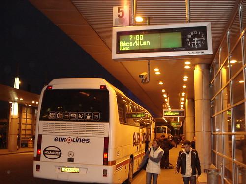 Busbahnhof Budapest