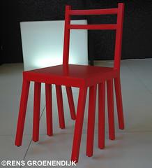 Foto stoel met tien poten