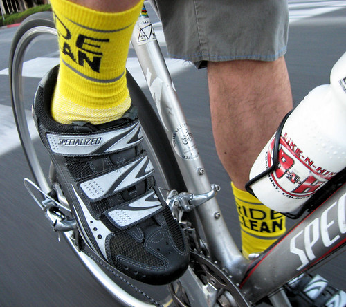 Socks du jour: Ride Clean