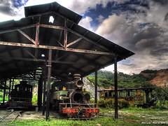 Ptio em Cajamar (Alex Leo) Tags: train trem baldwin hdr narrowgauge alco cajamar efpp bitolinha peruspirapora bitolaestrieta