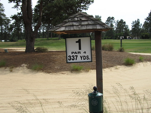Pinehurst Number Four 4 Golf Course