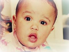 Ella (nerdcity411) Tags: baby silly cute girl ella surprised shocked