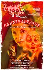 Carnivalesque Flier