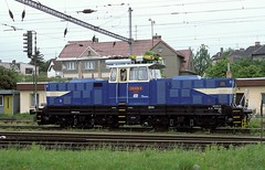 210 039  Tabor  23.05.98  CD (w. + h. brutzer) Tags: train cd eisenbahn railway zug trains tschechien tabor locomotive slowakei lokomotive 210 elok zsr eisenbahnen eloks