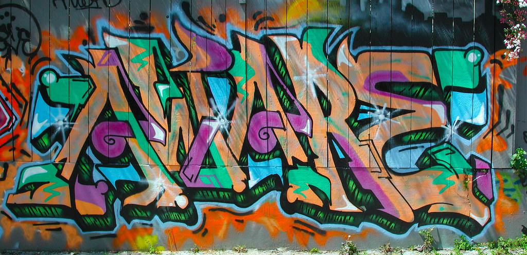 AWARE. Graffiti, Street Art, San Francisco,