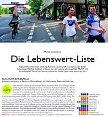 PRINZ 07/2010: Die Lebenswert-Liste: Gewinner Bochum-Ehrenfeld