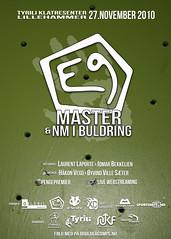 E9 master & NM plakat