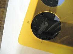 EKEN M003 保護シート 円形定規位置合わせ