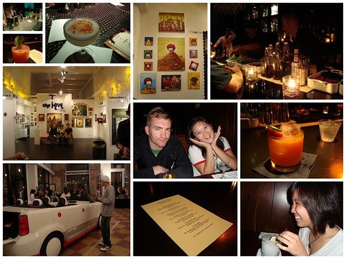 Barhop & DTLA Artwalk Collage