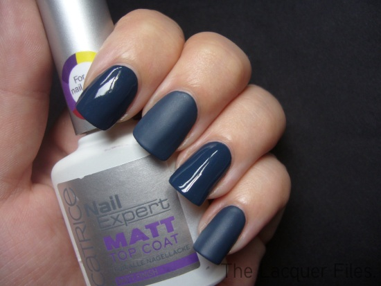 Catrice Hip Queens Wear Blue Jeans! with Catrice Matt Top Coat