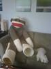 Sock Monkey Relaxing
