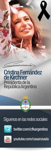 Cristina en las redes Sociales