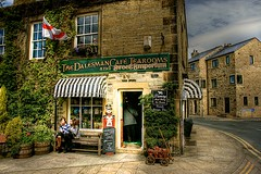 (1259) The Dalesman Cafe, Gargrave (unicorn 81) Tags: uk england house building shop cafe sweet yorkshire shops candystore hdr northyorkshire tearooms gargrave highdynamicrangeimaging dalesman unicorn81