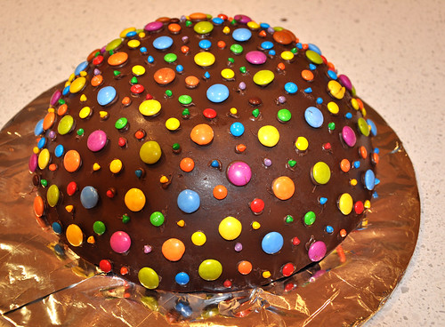 Choc dome - decorated