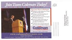 Norm Coleman Lit Piece
