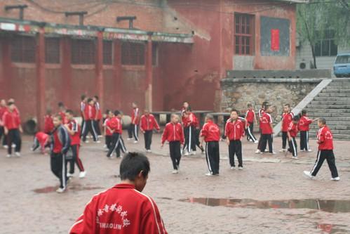 Shaolin Wushu Students