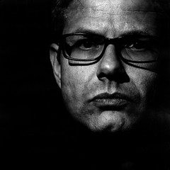 (Emaitchess) Tags: selfportrait blackwhite squareformat 4x5 largeformat polaroidtype55 arcaswiss artlibre rodenstocksironarn210f56