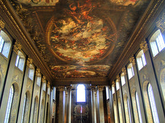 0452 The painted Hall (andy linden) Tags: college hall painted greenwich christopher royal wren naval 0452