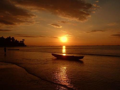Sunset at Kupang