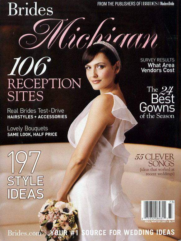 Published in Fall/Winter 2007 Bride's Michigan