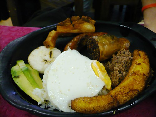 bandeja paisa, colombian food