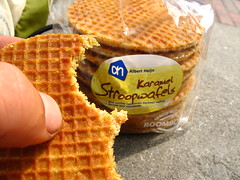 Caramel Stroopwafels from The Netherlands - far too moreish!