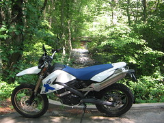 Private Falls (hootsmagoon) Tags: bmw motorcycle rhode g650 xchallenge