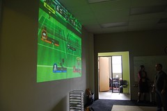 wii projected