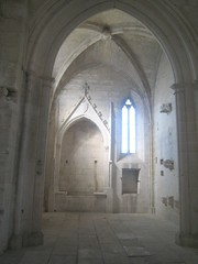 sacristy in the Abbey Montmajor