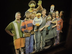 The Avenue Q cast