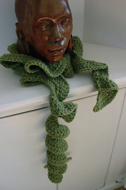 SPIRAL SCARF CROCHET PATTERN FREE PATTERNS