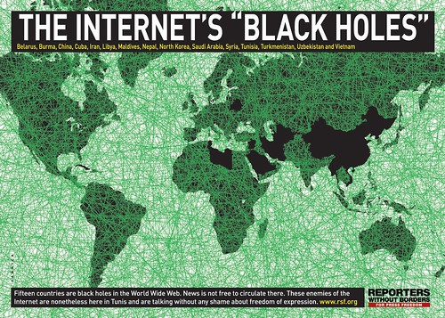 agujero negro internet