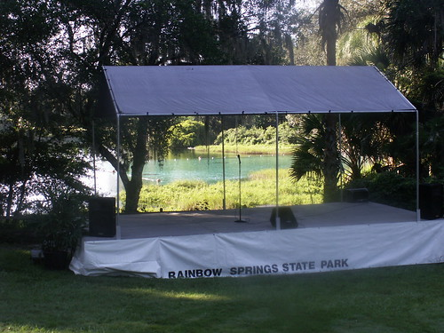 Stage by Rainbow Springs