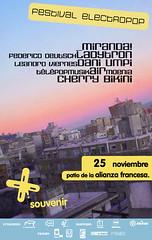 Souvenir (la renata) Tags: music uruguay graphicdesign air souvenir montevideo miranda msica diseo plakat ladytron utu diseadora grafischontwerp cherrybikini daniumpi grafiskdesign diseouruguayo tillaffischen affischen graphischedesign