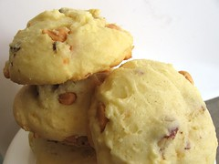 White Chocolate-Butterscotch Cookies