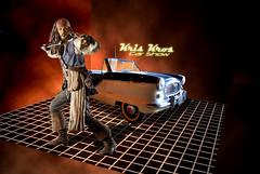 joe sparrow says: back off. she's taken. (Kris Kros) Tags: california ca usa cute classic film public car cali vintage movie jack la us losangeles cool nikon pix pr