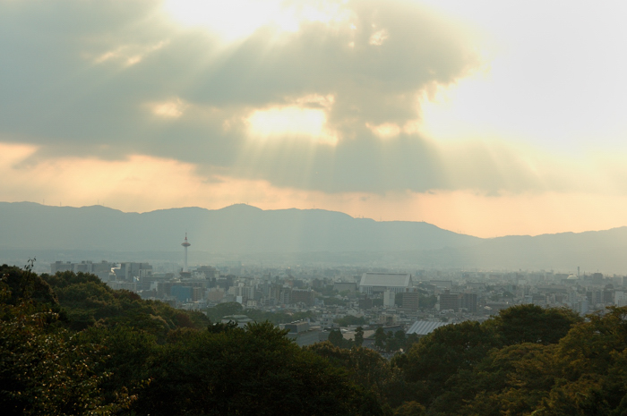 遙望京都市