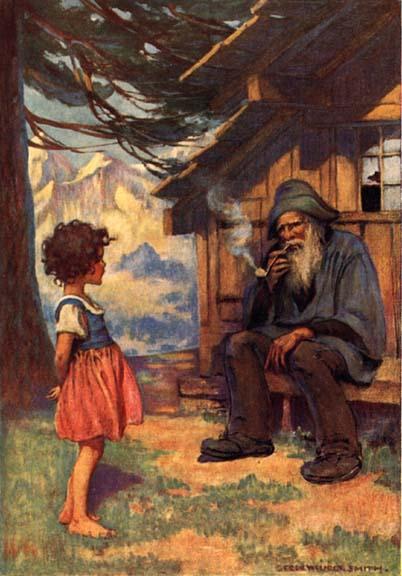 Heidi et son grand-père