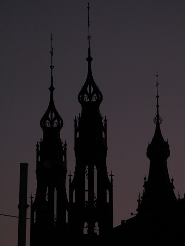 Spires in Silhouette