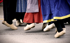 "Wooden shoes: a spinster aunt cries, ""why?"""