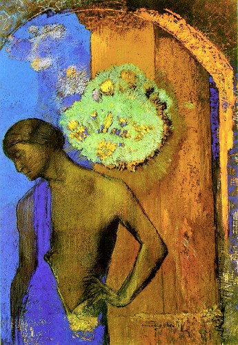 Saint John by Odilon St John by Redon